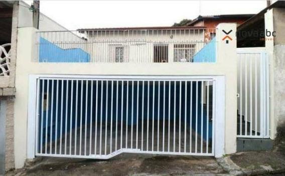 Casa Independente Com 2 Dormitórios, Quintal E Varanda Para Alugar, 60 M² Por R$ 1.300/mês - Vila Francisco Matarazzo - Santo André/sp - Ca0205