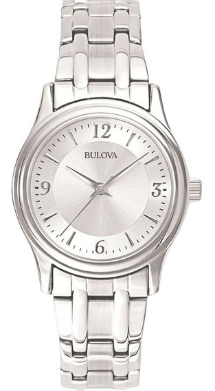 Reloj Bulova Corporate De Acero Inoxidable Para Dama 96l005