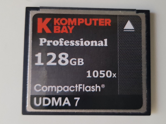 Cartão Cf Komputer Bay Professional 128gb 1050x Udma7