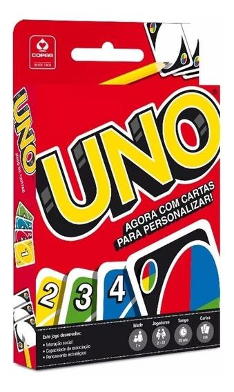 Jogo Baralho Uno Cards Original Copag Atacado Oferta 1 Un.