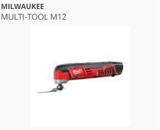 Milwaukee Multi-tool M12