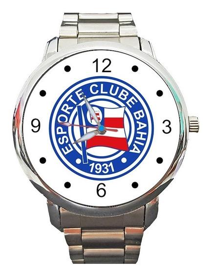 Relógio Bahia Esquadrão De Aço Leão Da Barra Futebol Bola