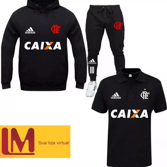 Moleton Blusa Flamengo Camiseta Polo Calça Qualidade Extra