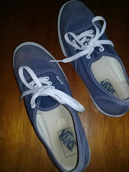 Zapatillas Dama Vans Talle 37