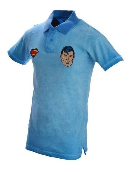 Playera Polo Superman Caballero
