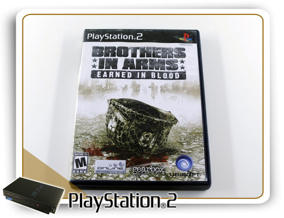 Brothers In Arms Earned In Blood Original Playstation 2 Ps2