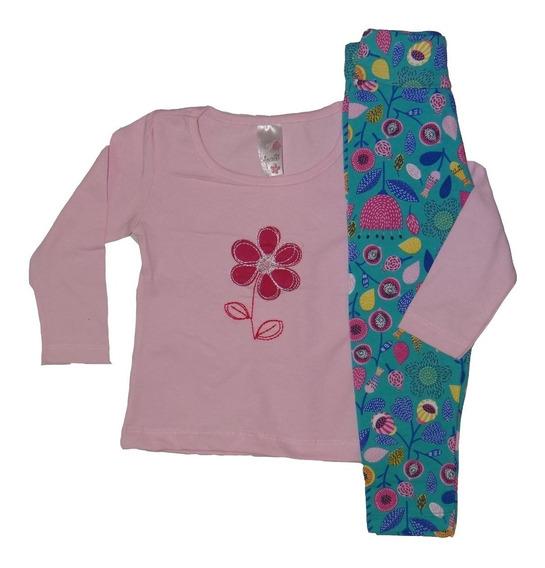 Roupa Infantil Menina Kit De 3 Conjunto Meia Estação Inverno