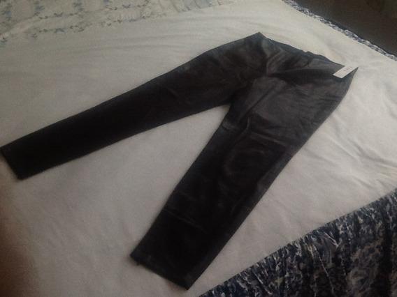 Zara Pantalon Para Dama Tela Tipo Piel