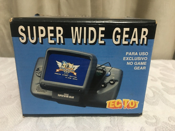 Super Wide Gear Para Game Gear Tectoy