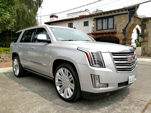 Imagen 1 de 14 de Cadillac Escalade Platinum 2015 Linea Nueva Factura Original
