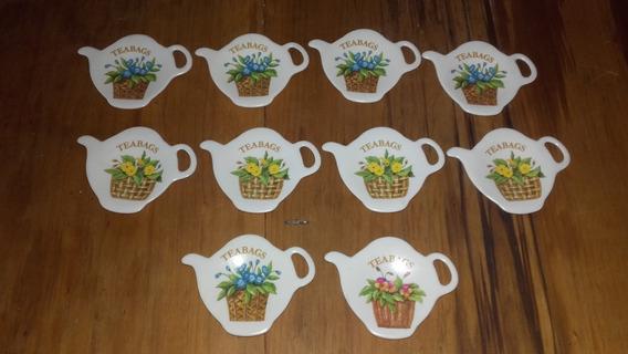 Posasaquitos Decorados Con Flores 10 Unidades