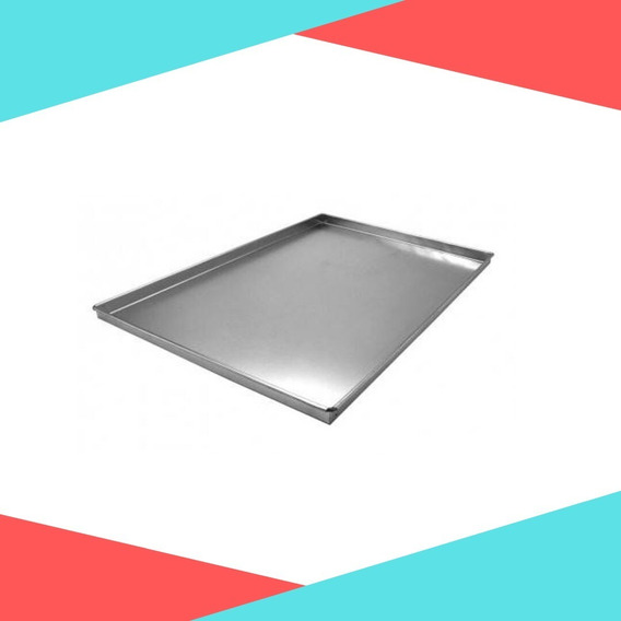 Kit 3 Assadeira Para Rocambole Em Alumínio 40x30x2