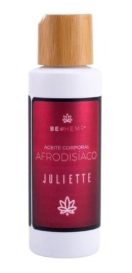 Aceite Corporal Afrodisiaco Juliette Beohemp 110ml