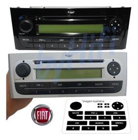 Kit Adesivo 3 Camadas Botões Rádio Linea Punto Frete Grátis