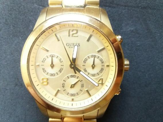 Relógio Guess Feminino Aço Dourado - W13552l1 (sem Caixa)