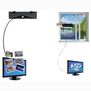 Antena Tv Interior Digital 1080hp Hdtv, Hd,vhf, Uhf, Fm. Pl