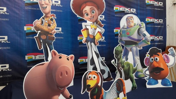 Toy Story Figuras Pack 7 Pzas $650