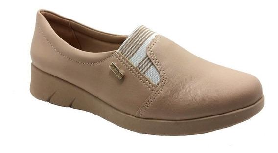 Sapato Comfortflex Feminino Anabela 1964302