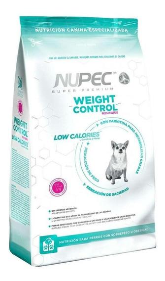 Alimento Nupec Nutrición Especializada Weight Control perro raza pequeña 8kg