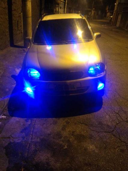 Corsa Wagon 2000, 1.0 16v Prata 5p Completo - Ar