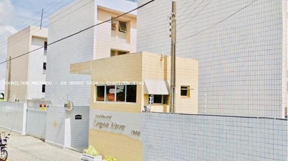 Apartamento Para Venda Em Natal, Lagoa Nova/potilândia - Residencial Lagoa Nova, 3 Dormitórios, 1 Suíte, 2 Banheiros, 2 Vagas - Ap1155-resid. Lagoa Nova