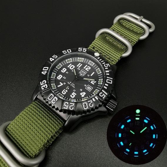 Addies Luminox Militar Diver Prova Dágua 50m Navy Seal