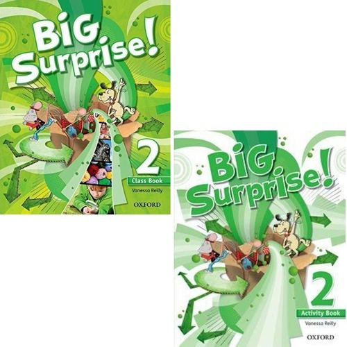 Big Surprise 2 - Class Book And Activity Book - Oxford