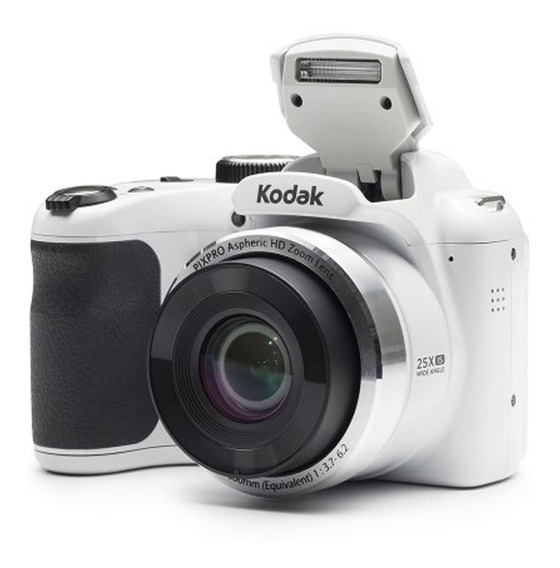 Camara Digital Kodak Az252 Semi Reflex 16 Mp Hd Blanca Nueva