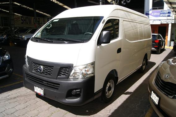 Nissan Urvan Panel 2016. 5 Vel,ve,a/c, Mot 2.5 Lts