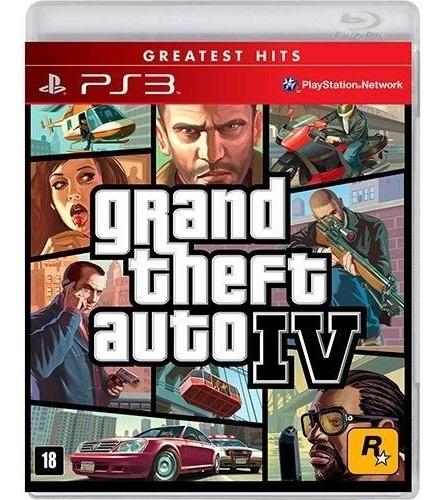 Grand Theft Auto Iv Gta 4 - Mídia Física / Ps3