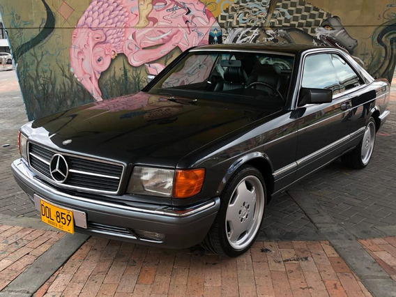 Mercedes Benz 500 Sec Aleman 1991 Uno De Los 496 Producidos