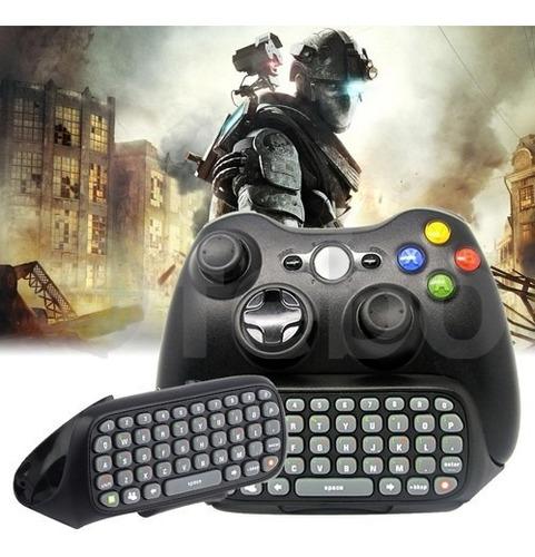 Imagen 1 de 7 de Teclado Inalambrico Para Joystick Control De Xbox 360