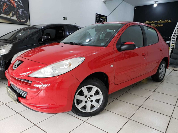 Peugeot 207 Xr 1.4 Flex 4pts 2012