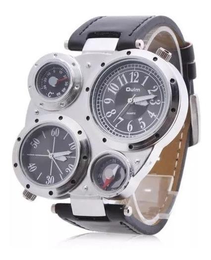 Reloj 4 Diales Unico En Mercado Libre Caja Acero Inoxidable