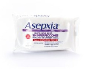Toallitas Asepxia Limpieza Facial Granitos 10 Uni X 20 Paq