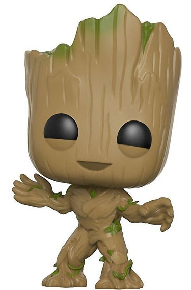 Figura Muñeco Funko Pop Guardianes De La Galaxia Groot 202