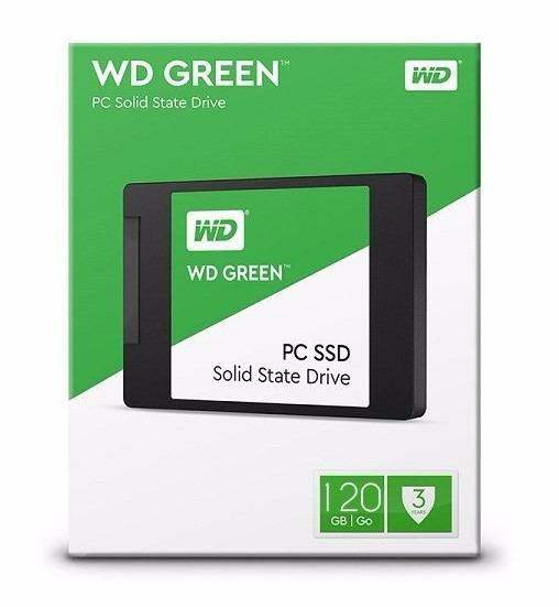 Ssd Wd Green 120gb + Adaptador Caddy P/ iMac 2009 Até 2012