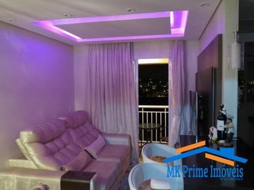 Imagem 1 de 15 de Lindo Apartamento De 68m2 Vitta Club - 1565