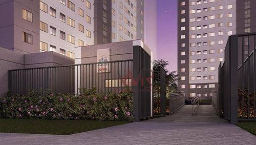 Imagem 1 de 8 de Apartamento Com 2 Dormitórios Zona Sul - Jardim São Savério - São Paulo/sp - Ap1054