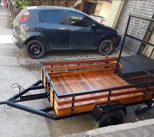 Carreta Para Food Bike 2,00 X 1,30