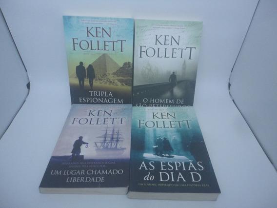 Lote Kit 4 Livros Tripla Espionagem Espiãs Homem De São