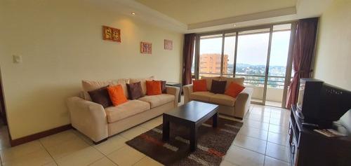 Alquilo Apartamento Amueblado En Zona 10 Guatemala - Paa-025-05-09