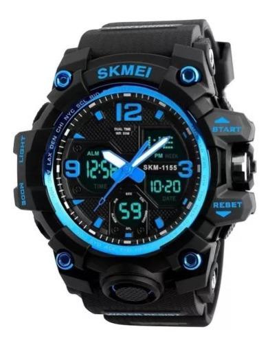Relógio Skmei 1155b Digital Analogico G -shock
