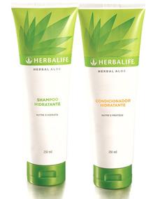 Shampoo & Condicionador Fortificante Herbalife Herbal Aloe