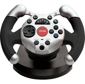 Volante Dual Shock Racing P/ Pc - Maxprint.
