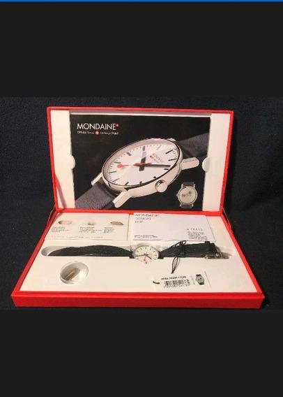 Reloj Mondaine Edicion Especial 75th Glaciar Express Suizo