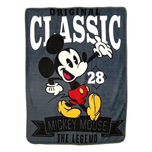 El Mickey Mouse De Disney, Un  Clasico  Micro Manta De Rasch