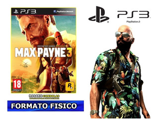 Max Payne 3 Fisico Original Sellado Nuevo Playstation 3