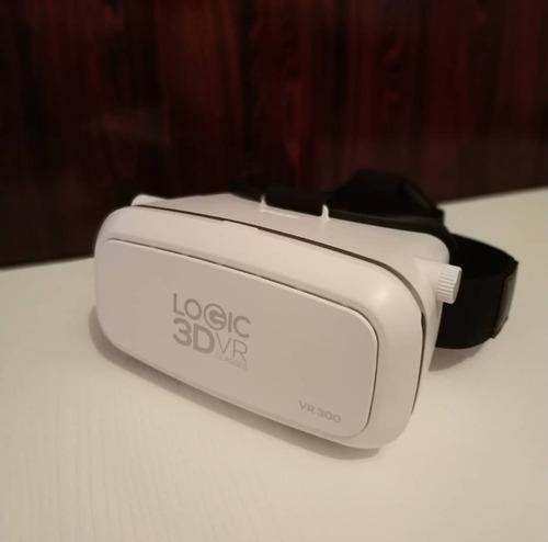 Lentes De Realidad Virtual 3d Logic Vr300 - Entrega Personal