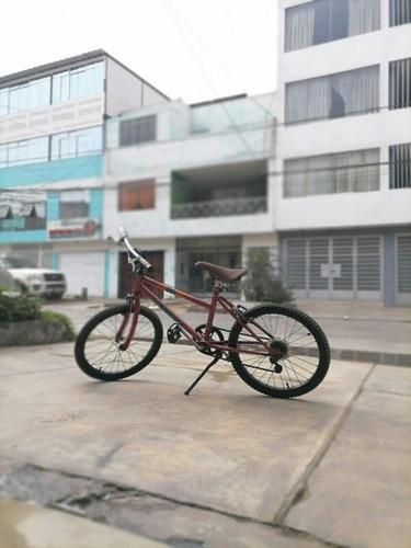 Imagen 1 de 6 de Bicicleta Italiana Legnano Para Niños Aro 20 Con Cambios